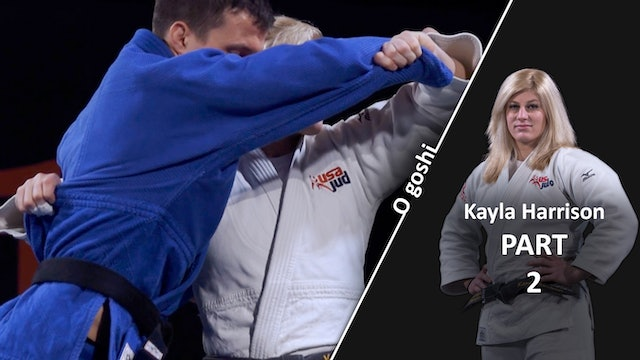 Set Up And Upper Body | O Goshi | Kayla Harrison