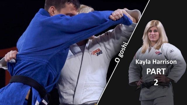 O goshi - Set up and upper body | Kayla Harrison