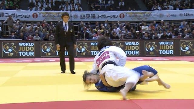 101: Uchi mata - JPN v RUS -52kg