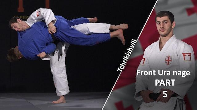 Uchi mata variation | Tchrikishvili