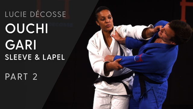 Upper Body | Ouchi gari | Sleeve and lapel | Lucie Décosse
