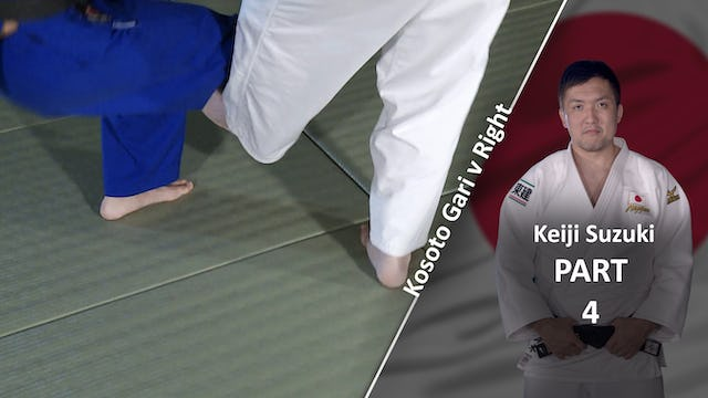 Pivot on foot vs right | Keiji Suzuki