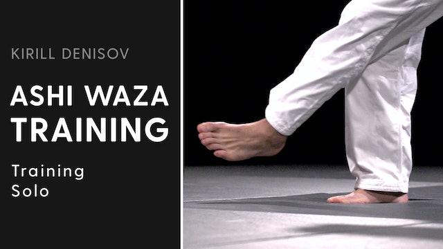 Training Solo   Ashi Waza Training   Kirill Denisov