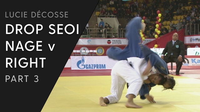 Competition Variations | Drop Seoi nage | Décosse