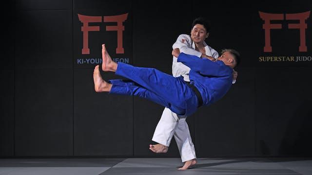 Okuri ashi barai | Korean Judo