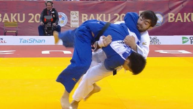 101: Te waza - AZE v JPN -81kg