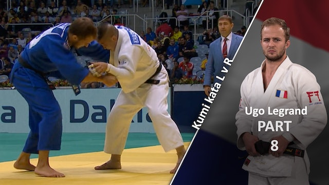 Kumi kata - Pinning the sleeve - Competition variations | Ugo Legrand