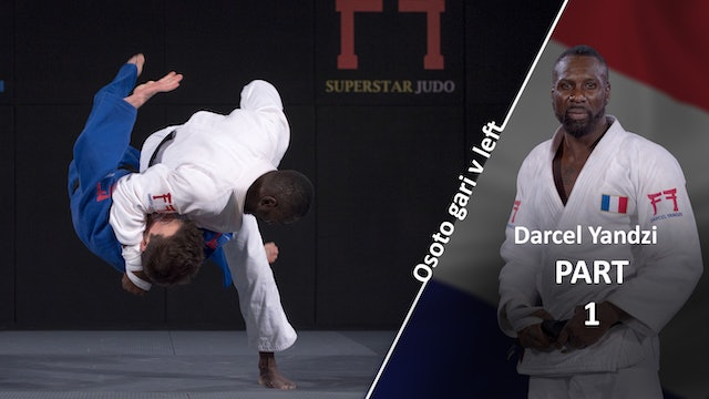Osoto gari against opposite stance | Darcel Yandzi