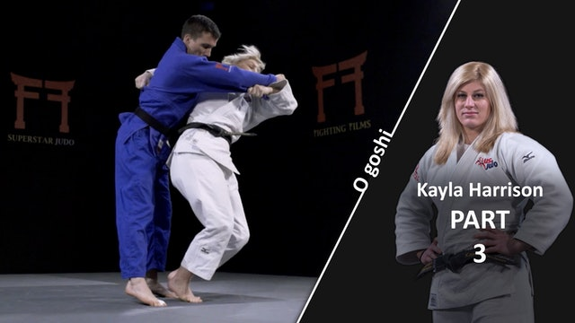 Hips and entry | O Goshi | Kayla Harrison