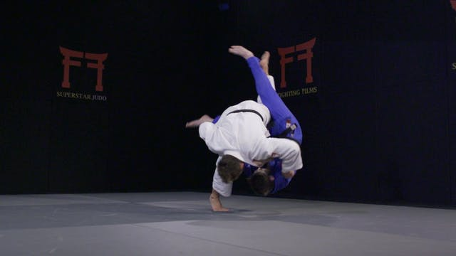 Spinning Uchi mata - Execution | Ugo ...