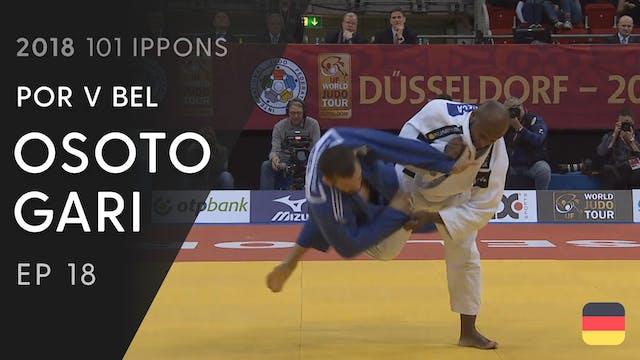 101: Osoto gari - POR v BEL -100kg