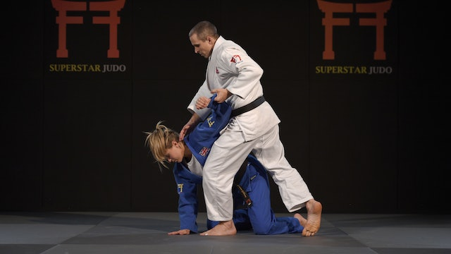 Setting up Ne waza from standing | Judo principles