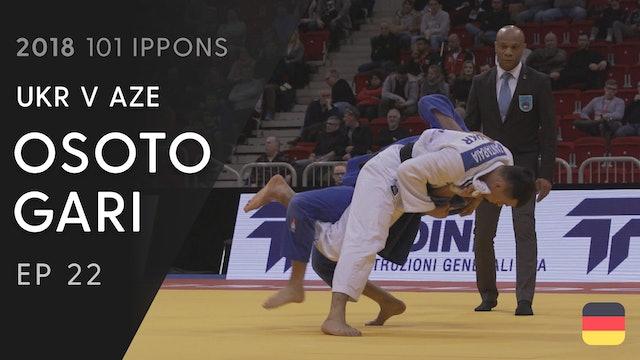 101: Osoto gari - UKR v AZE -66kg