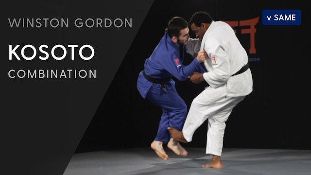 Kosoto gari - De ashi barai combination | Winston Gordon