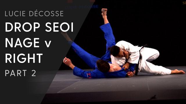 Execution | Drop Seoi nage | Décosse