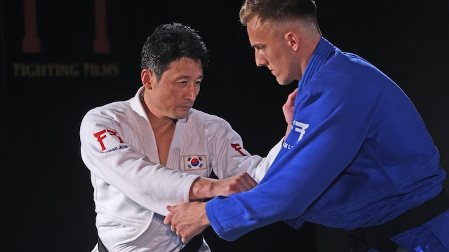 Sleeve & lapel shake | Korean Judo