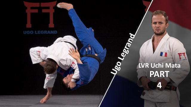 Uchi mata - The throw vs opposite | Ugo Legrand
