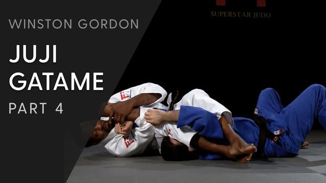 Juji gatame - Releasing the arm and a...