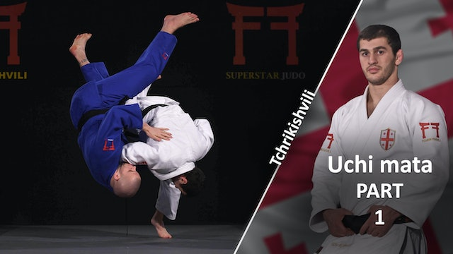 Single sided Uchi mata | Tchrikishvili