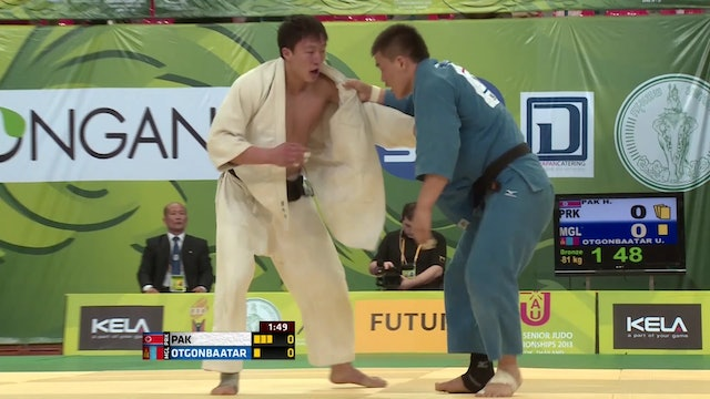 2013 Asian Judo Championships Day 2 | Bangkok