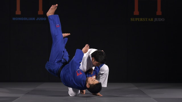 Drop Seoi nage - Entry and execution | Davaadorj