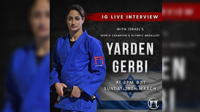 IG Live With Yarden Gerbi