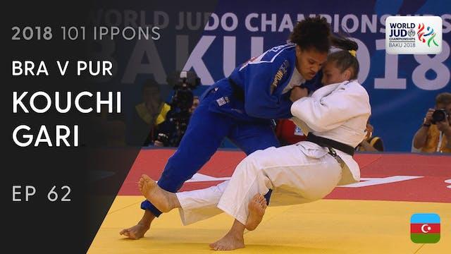 101: Kouchi gari - BRA v PUR -70kg