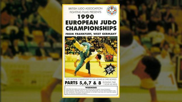 1990 European Judo Championships: Parts 5 - 8