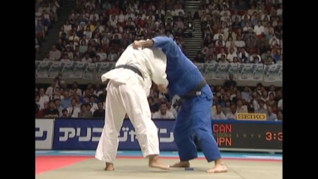 Kosei Inoue - Kumi kata against left arm over the top