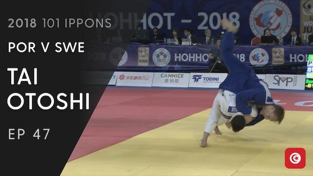 101: Tai otoshi - POR v SWE -81kg