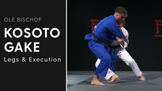 Kosoto gake - Legs and execution | Ol...