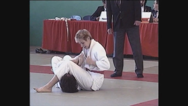 Neil Adams - Juji gatame - Straightening the arm