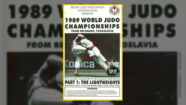 1989 World Judo Championships: Lightweights   Belgrade