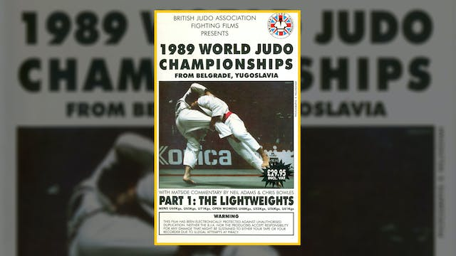 1989 World Judo Championships: Lightw...