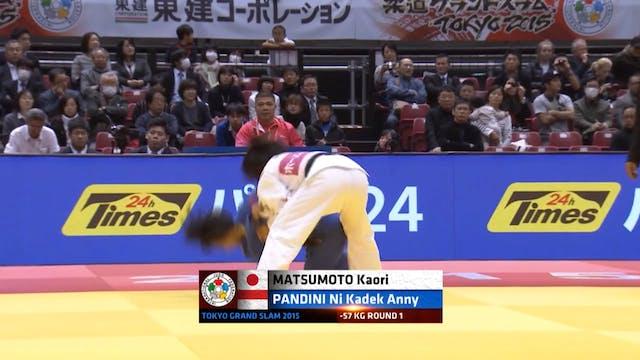 101: Juji gatame - JPN v INA -57kg
