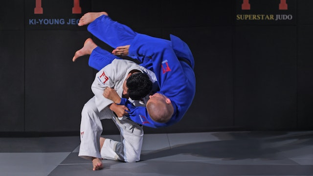 Kata eri seoi nage off the grip | Korean Judo