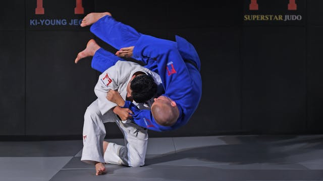 Kata eri seoi nage off the grip | Kor...