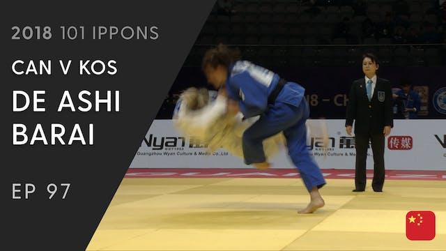 101: De ashi barai - CAN v KOS -57kg