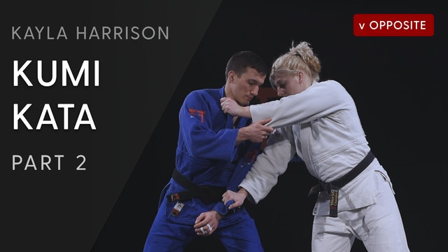 Kumi kata vs Opposite - Step by Step | Kayla Harrison