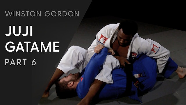 Juji gatame - Belt feed and leg pull | Winston Gordon
