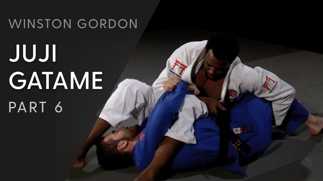 Juji gatame - Belt feed and leg pull ...