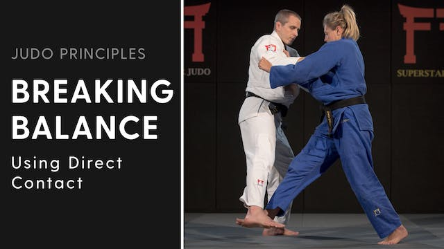 Using direct contact | Judo Principles