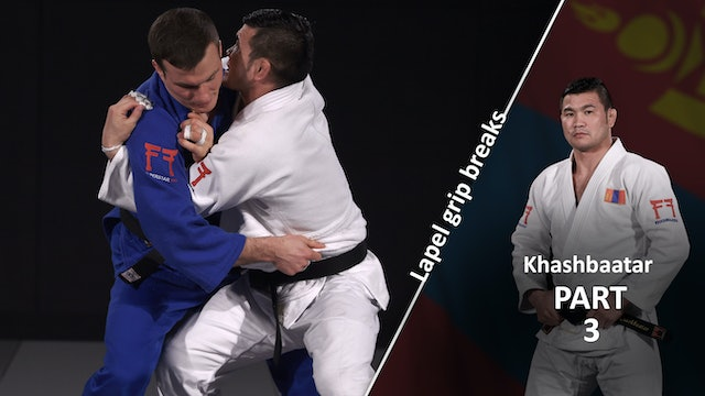 Lapel grip break - Getting in close | Khashbaatar