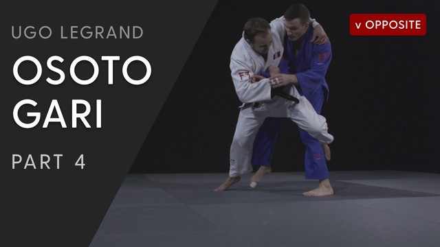 Osoto gari - Cross Grip vs opposite | Ugo Legrand