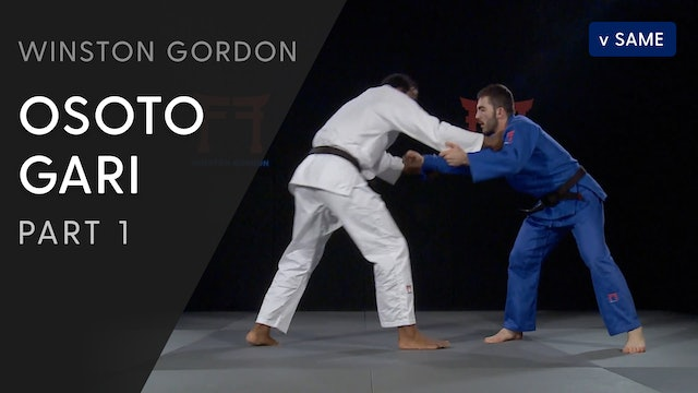 Osoto gari - Overview | Winston Gordon