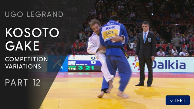 Kosoto gake - Execution & Competition...