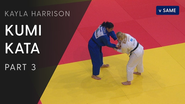 Kumi kata vs Same - Competition variations | Kayla Harrison