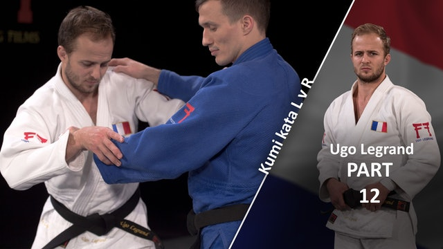 Kumi kata - Pinning the sleeve, from sleeve grip break | Ugo Legrand