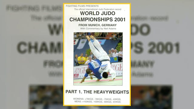 2001 World Judo Championships: Heavyw...