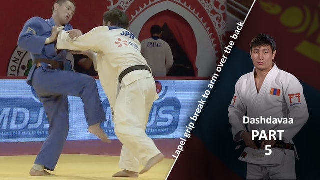 Lapel grip break - Competition vs left | Dashdavaa